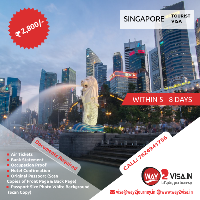 Singapore Tourist Visa Assistance in Bangalore, India | Singapore Visa for Indians